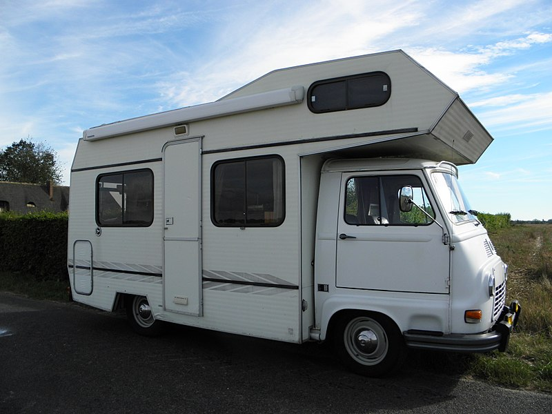 Camping-car Estafette Renault
