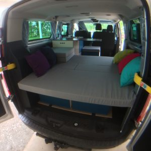 Ford Custom L2 Kombi transformé camping car combi full